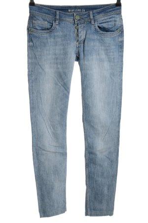 Blue Fire Five-Pocket-Hose blau Casual-Look