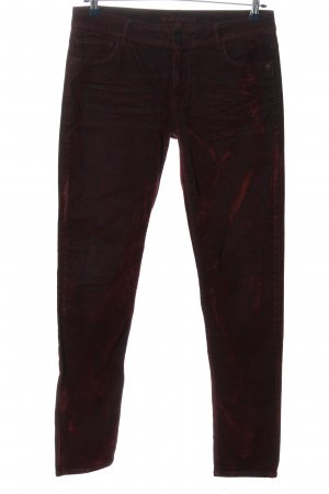 Blue Fire Five-Pocket-Hose rot Casual-Look