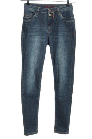 Blue Fire High Waist Jeans blau Casual-Look