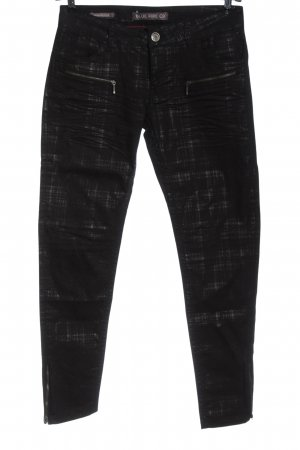 Blue Fire Low-Rise Trousers black casual look