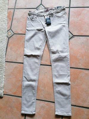 Blue Fire Jeans elasticizzati beige chiaro