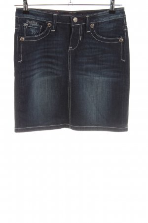 Blue Fire Jeansrock blau Casual-Look