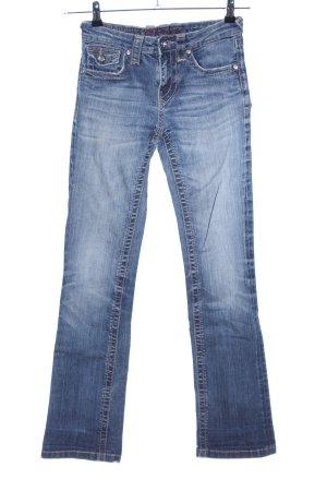 Blue Fire Jeansschlaghose blau Casual-Look