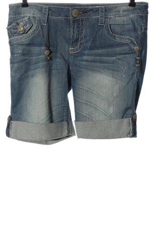 Blue Fire Pantaloncino di jeans blu stile casual