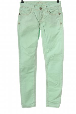 Blue Fire Drainpipe Trousers turquoise casual look