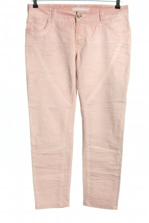 Blue Fire Pantalon cigarette rose style décontracté