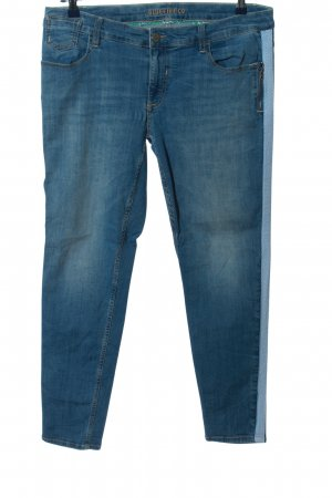 Blue Fire Tube jeans blauw casual uitstraling