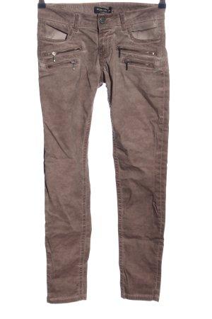 Blue Fire Jeans a sigaretta lilla stile casual