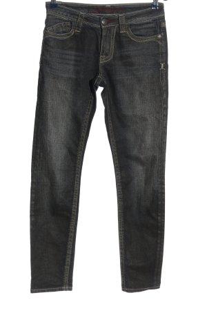 Blue Fire Skinny Jeans schwarz meliert Casual-Look