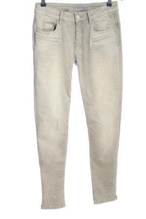 Blue Fire Skinny Jeans hellgrau-wollweiß Casual-Look