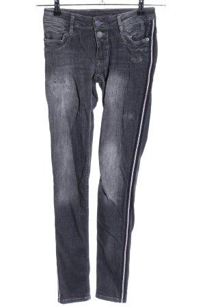 Blue Fire Skinny Jeans schwarz Casual-Look