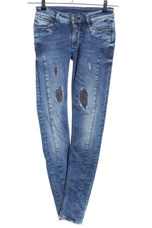 Blue Fire Skinny Jeans blau Casual-Look