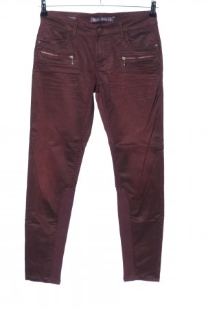 Blue Fire Skinny Jeans braun Casual-Look