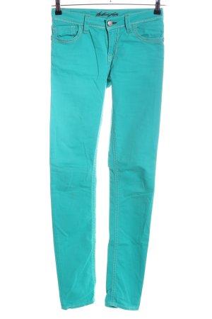 Blue Fire Skinny Jeans türkis Casual-Look