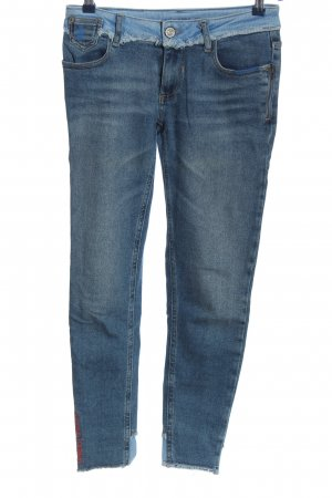 Blue Fire Jeans slim bleu style mode des rues