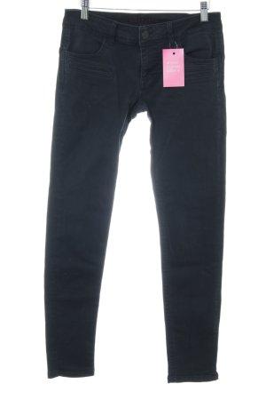 Blue Fire Slim Jeans schwarz schlichter Stil