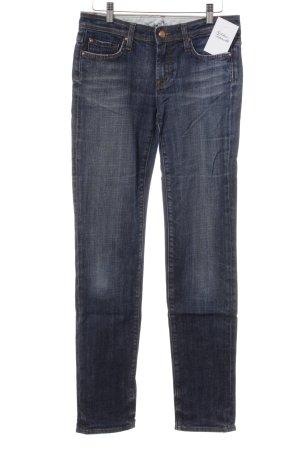 Blue Fire Slim Jeans stahlblau Casual-Look