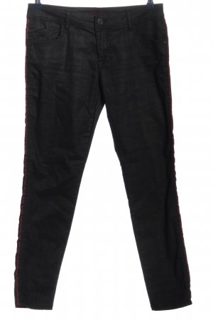 Blue Fire Stoffhose schwarz Casual-Look