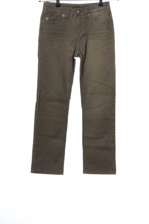 Blue Fire Stoffhose braun Casual-Look