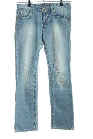 Blue Fire Straight-Leg Jeans blau Casual-Look