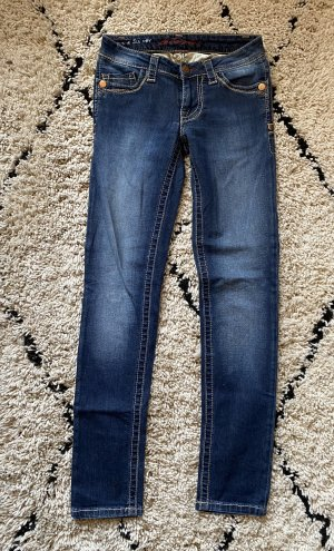 Blue Fire Jeans stretch bleu-bleu acier