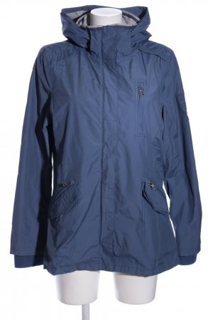 Blue Flame Outdoor jack blauw casual uitstraling