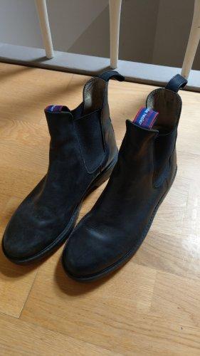Blue Heeler Chukka boot noir