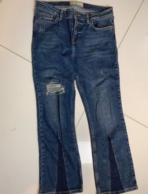 Free People Jeans a zampa d'elefante blu scuro