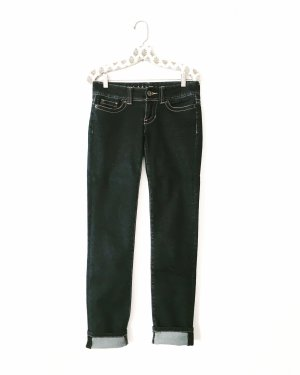 blue jeans • denim • vintage • dunkelblau • bohostyle • hippielook • classy