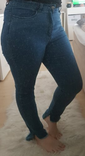 NA-KD Jeans taille basse bleu clair