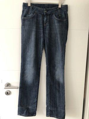 Stretch jeans veelkleurig