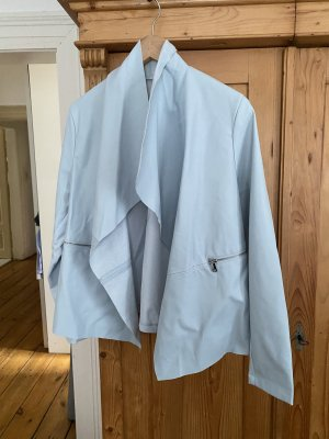 Blue letherette jacket