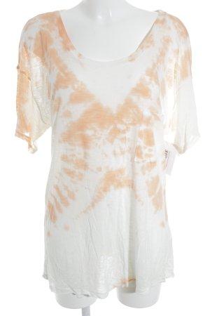 Blue Life T-Shirt weiß-lachs Casual-Look