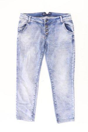 Blue Monkey Jeans skinny bleu-bleu fluo-bleu foncé-bleu azur coton