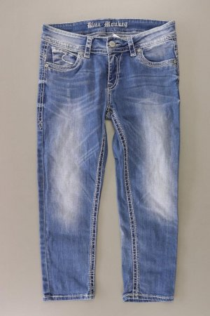 Blue Monkey 7/8 Jeans Größe W30 blau aus Baumwolle