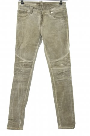 Blue Monkey Five-Pocket Trousers gold-colored casual look