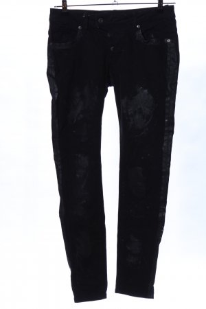 Blue Monkey Low-Rise Trousers black casual look