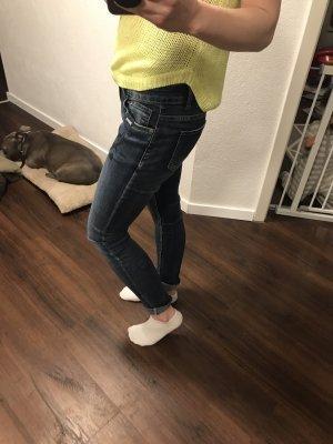 Blue Monkey Tube jeans donkerblauw
