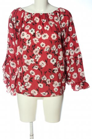 Blue Monkey Long Sleeve Blouse allover print casual look