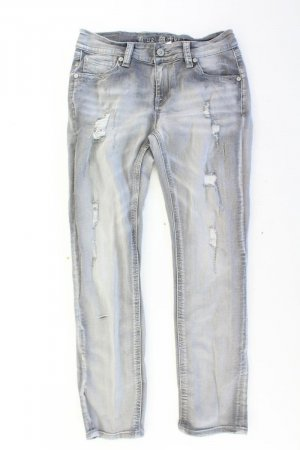 Blue Monkey Regular Jeans Größe 40 grau aus Baumwolle