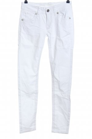 Blue Monkey Tube jeans wit casual uitstraling
