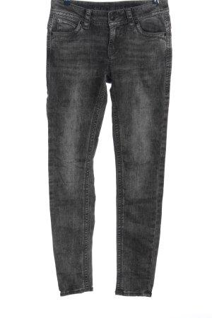 Blue Monkey Jeans a sigaretta nero stile casual