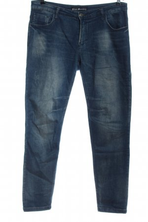 Blue Monkey Skinny jeans blauw casual uitstraling