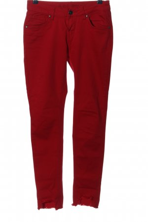 Blue Monkey Skinny Jeans red casual look