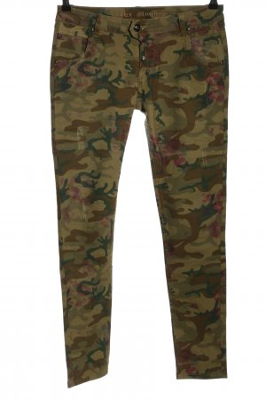 Blue Monkey Skinny Jeans allover print casual look