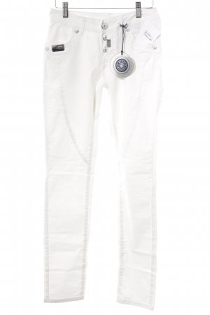 Blue Monkey Skinny Jeans weiß Casual-Look