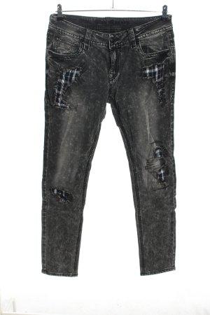 Blue Monkey Jeans slim fit grigio chiaro stile casual