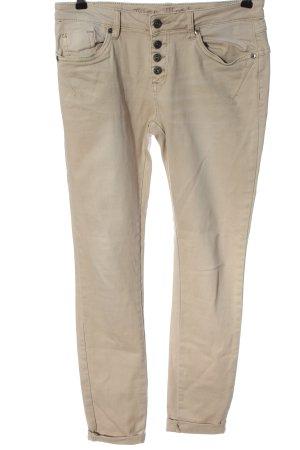 Blue Monkey Slim Jeans creme Casual-Look