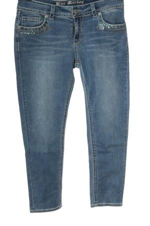 Blue Monkey Straight Leg Jeans blue casual look