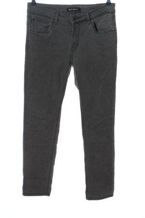 Blue Monkey Jeans a gamba dritta grigio chiaro stile casual